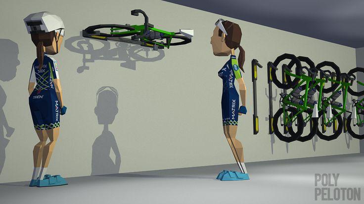 Poly Peloton: Laurine van Riessen Joins Matrix Pro Cycling