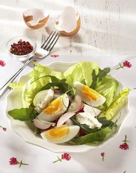 Salát s vejci
