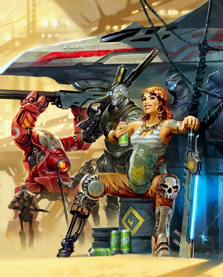 lukas thelin, fenix, kenneth hite, just add rum, pirates, sci fi art, beam sword