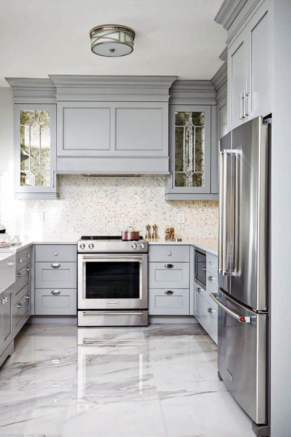 Lovely Grey Kitchen Cabinets Design Ideas For Cool Homes Page 35 Of 50 Evelyn S World My Dreams My Colors And My Life Kitchen Remodel Small Kitchen Layout Diy Kitchen Remodel
