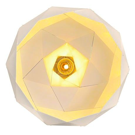 Ø 24 Helix Lamp - White - alt_image_one