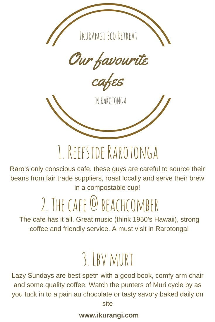 Our top picks for a caffine hit www.ikurangi.com