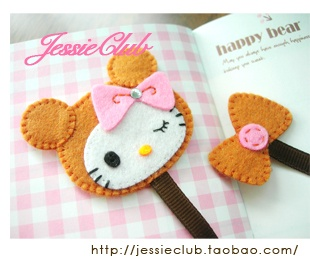 Not a fan of Hello Kitty, so I wouldn't make it to look like her but I like this idea!