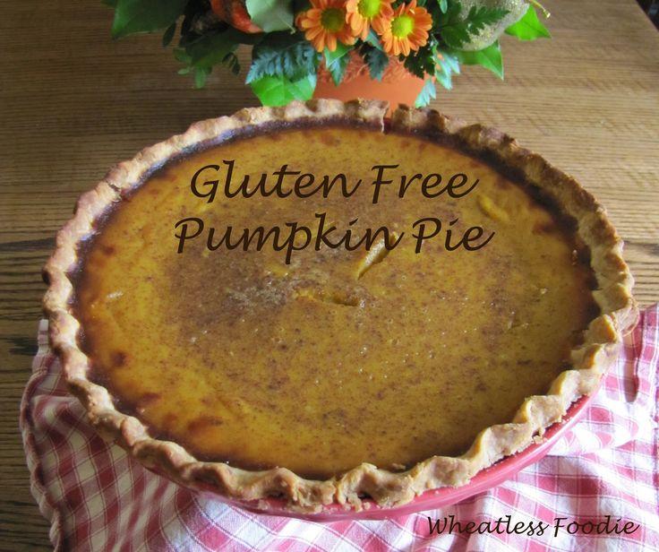 Gluten Free Pumpkin Pie | yummy!!! | Pinterest