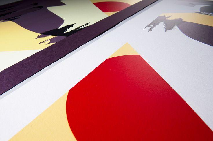 """Titta på det här @Behance-projektet: """"Posters for christmas display"""" https://www.behance.net/gallery/45597051/Posters-for-christmas-display"""