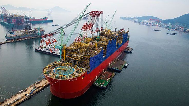 Small Fire at Prelude FLNG Construction Site