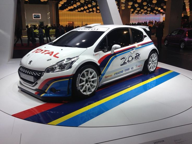 Peugeot 208 Rally Car