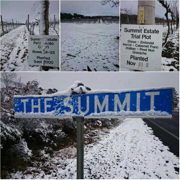 #Summit snow #GraniteBelt