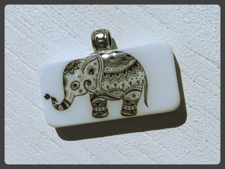 7 best domino pendants by dead hear designs images on pinterest henna elephant inspired domino pendant necklacelooks sharp clean and ready for you hand aloadofball Image collections