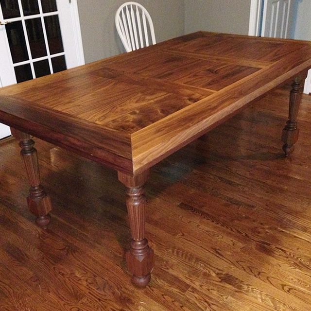 Our Customer Jim Used Our Two Best Selling Products To Finish This  Beautiful Table: Waterlox