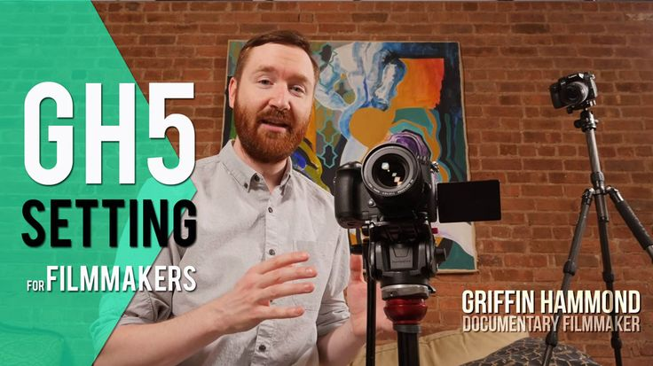 How to set up your new Panasonic GH5 for Filmmaking   Griffin explains all the Panasonic GH5 settings filmmakers need to know to optimize their new camera.  Skip to 2:53 for Save/Restore Camera Setting 1:15 How the GH5 menu system works 2:32 Save your settings in Menu \ Setup \ Save/Restore Camera Setting 3:53 How to operate the GH5 exterior 4:45 Griffins settings beginning in Creative Video menu Menu \ Creative Video \ Exposure Mode \ M Menu \ Creative Video \ SS/Gain Operation \ ANGLE/ISO…
