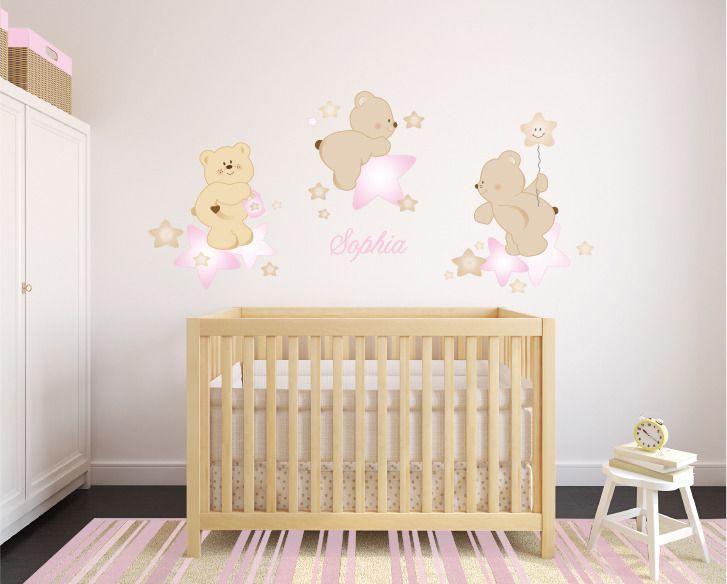 Pi di 25 fantastiche idee su decorazioni orsetti su for Adesivi murali x bambini