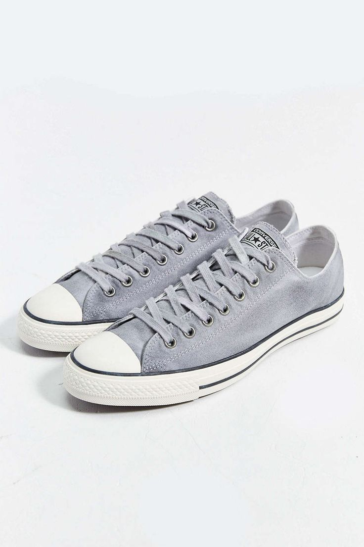 Converse Chuck Taylor All Star Low-Top White Wash Mens Sneaker