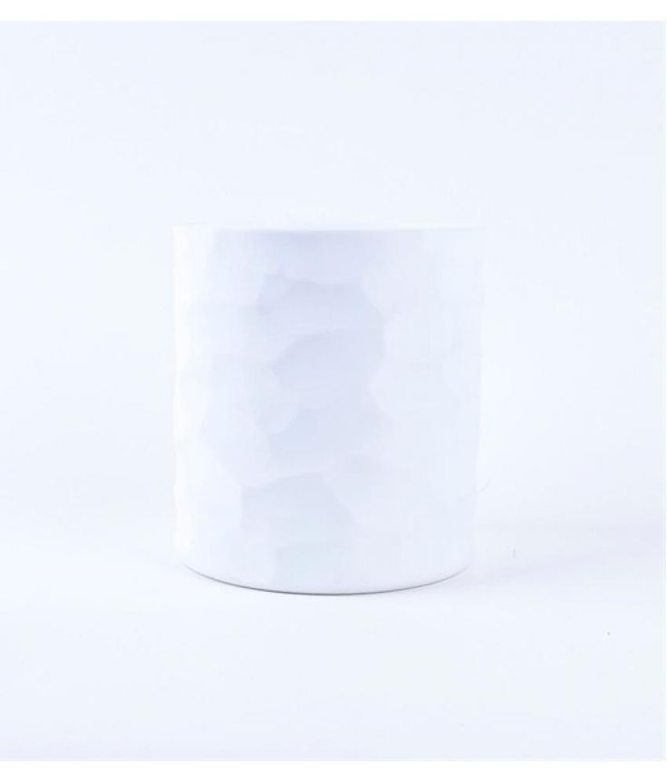 Van Roon Living iWaxinelichthouder Ieberg 13x16 cm white glass