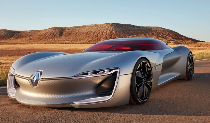 Renault TREZOR is One of the Wildest Concept Cars of 2016