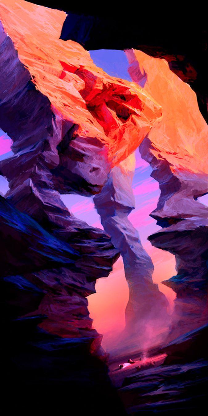 Color art digital - Wonderful Worlds Delightful Dreams Ideal Ideas Fantastic Finds