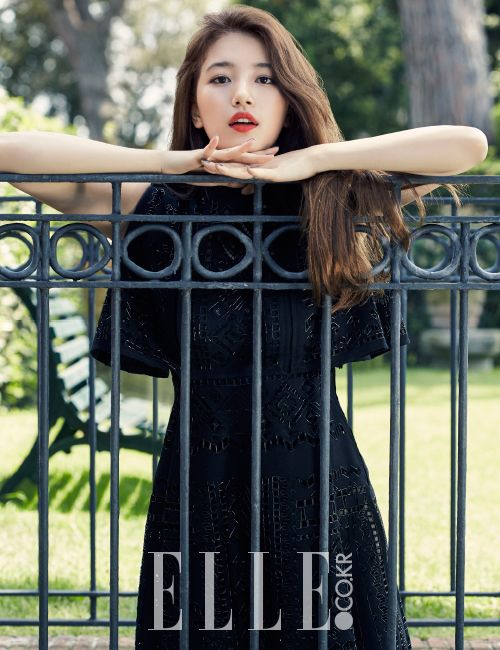 Suzy for ELLE KOREA Oct 2015 [To Rome With Love]