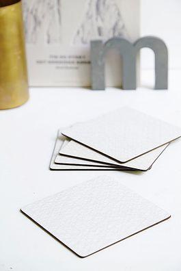 5 stk grå smørebrikker - 125kr. Køb den på www.loppedesign.dk