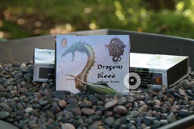Dragon Blood Incense Cone