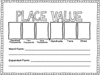 153 best images about MATH: PLACE VALUE on Pinterest | Expanded ...