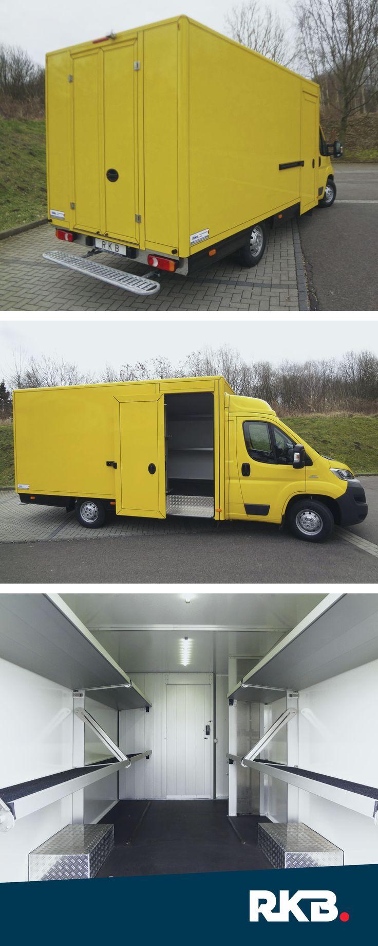 Transportfahrzeuge von RKB #RKB #Transportfahrzeuge #Delivery #Karosseriebau #ImEinsatz #VollerMöglichkeiten #Döbeln #Post #Regalsystem #Paket #Lieferdienst #Logistik