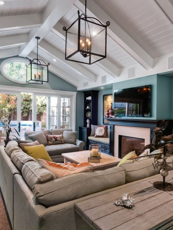 This layout almost completely matches what I want to do in our living room.