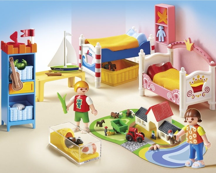 Boy And Girl Room By Playmobil 5333