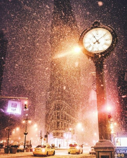 Snow vision. New York City (long caption below about my...