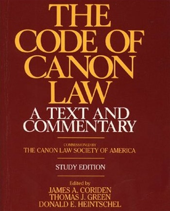 canon: In general, a rule or measure that is used in different ways. For example, the canon of Scripture is the list of the books of the Bible. Canon law contains laws of the Church. The canon of the Mass is the Eucharistic Prayer.    Code of Canon Law: Book of rules used by the Catholic Church; last revised in 1983. www.pauline.org