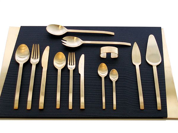 Cutlery - Products - Pordamsa --- golden beauties.