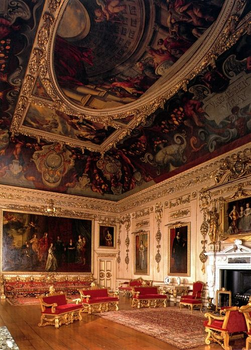 The Wilton House in England. (Interior)   Inspiration for Ross's house