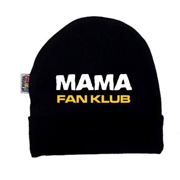 Czapeczka dziecięca - mama fan klub z FamilyInBlack.pl