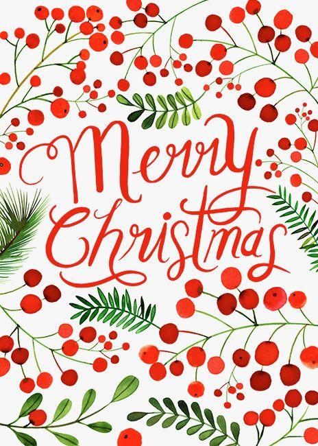 Margaret Berg Art: Merry Christmas Berries