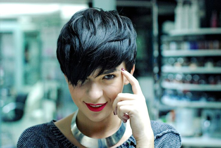 1334 Best Asymmetrical Hairstyles Images On Pinterest