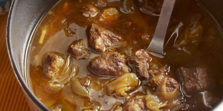 Boodschappen - Rundvlees uit de oven met sinaasappel en gember