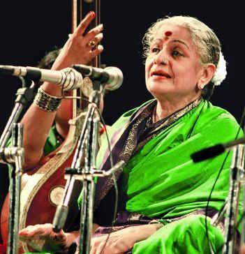 Carnatic Music Vocalist M.S.Subbulakshmi - queen of carnatic music