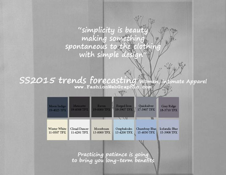 SS2015 trends forecasting for Women, Intimate Apparel - simplicity is beauty, making something spontaneous to the clothing with simple desig...