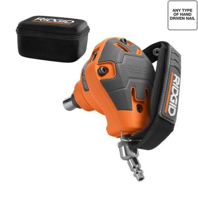 ridgid palm nailer r350pne the home depot