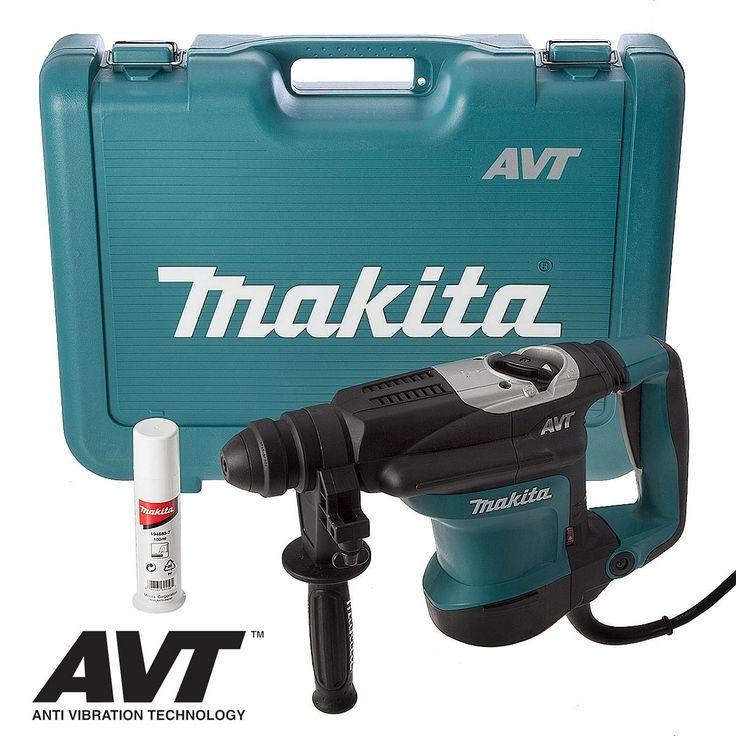 MAKITA HR3210C AVT SDS ROTARY HAMMER DRILL single speed variable, 3 mode SDS+ hammer drill is fitted with AVT, Makita's anti vibration...