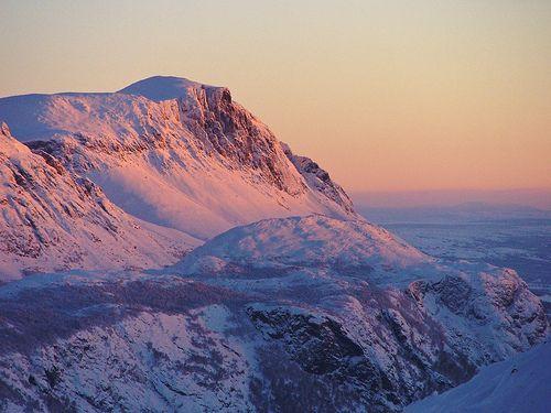 Sunrise over Hemsedal
