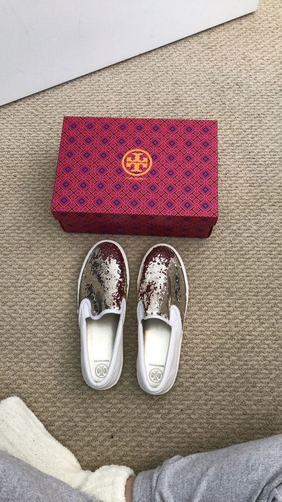 b6f60d98883a0 NWT Tory Burch Carter Slip On Sneakers Womens Size 11 #fashion ...