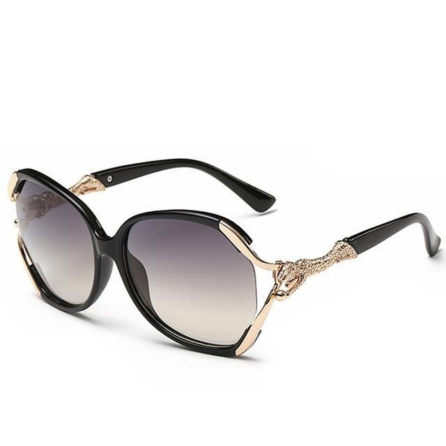 bc3408a063ee Fashion Sunglasses Women Luxury Brand Designer Leopard Sun Glasses For Ladies  Vintage UV400 Mirror Lens Female RS085