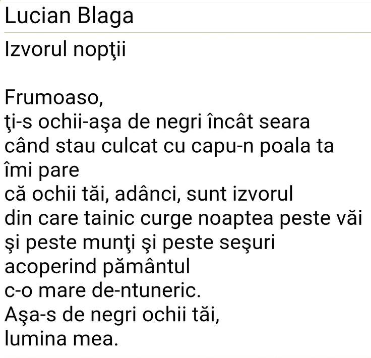 Lucian Blaga - poezie