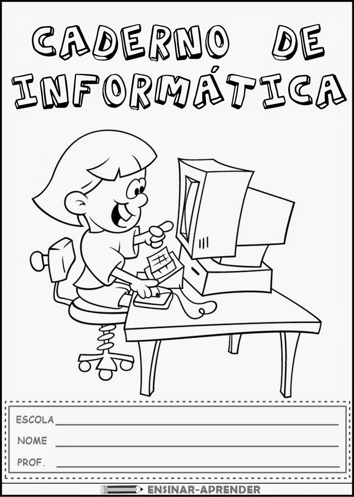 """10 CAPAS DE CADERNO PARA TODAS AS MATÉRIAS ~ """"Atividades Escolares"""""""