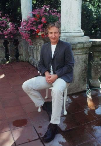 """AR: This series is from an interview Alan did at the 54th Venice Film Festival in August of 1997. He was there promoting """"The Winter Guest"""""""