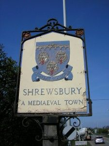 #Shrewsbury #Shropshire UK town sign