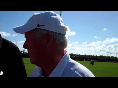 UCF University of Central Florida Knights head football coach George O'Leary talks spring football (3/13/2012)