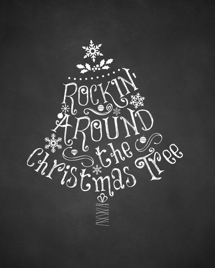 Free Christmas Printables |UpcycledTreasures.com