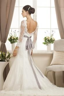 Wedding Dress - BRITTANY TYŁ - Relevance Bridal