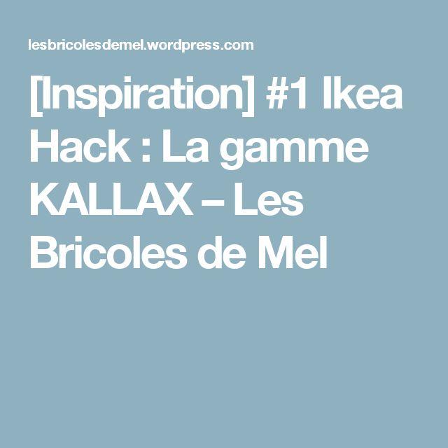 [Inspiration] #1 Ikea Hack : La gamme KALLAX – Les Bricoles de Mel